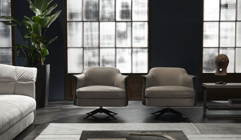 Cierre Boheme Swivel Armchair At Marquis Qsquare
